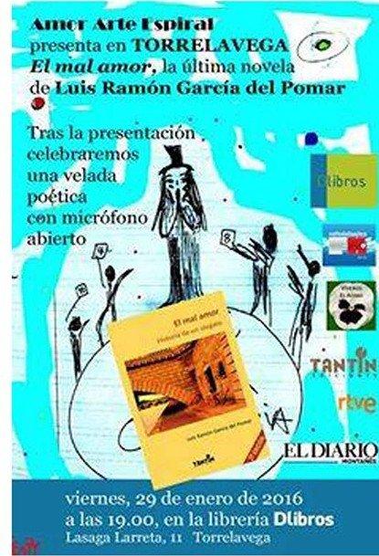 Presentaci n de la novela el mal amor en dlibros en torrelavega mi plan hoy - Librerias torrelavega ...