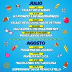 Talleres gratuitos en Peñacastillo