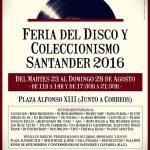 Feria del disco y coleccionismo en Santander 2016