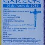 Fiestas de Cristo de Balaguer en Garzon 2016