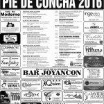 Fiestas de Ntra Sra de Consolacion en Pie de Concha 2016