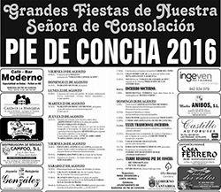 Fiestas de Nuestra Señora de Consolación en Pie de Concha 2016.