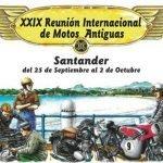 XXIX Reunión Internacional de Motos Antiguas en Santander 2016
