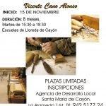 Curso de Talla de madera en Lloreda de Cayón