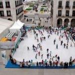 Pista de hielo de Navidad en Santander