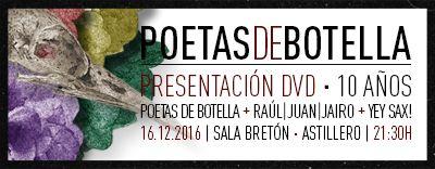 Presentación DVD Poetas de Botella en Astillero