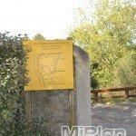 Cartel circuito Parque de Mataleñas