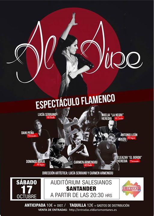 Espect culo flamenco en los salesianos de santander for Espectaculos internacionales de hoy