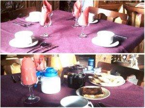 posada Naciebro desayunos