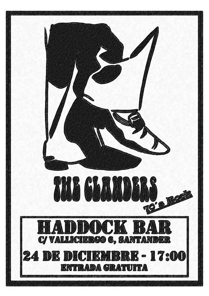 concierto de the clanders en el haddock en santander miplanhoy