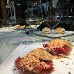 Pincho de cecina con foie restaurante el Pícaro de Santander