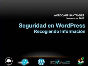 Presentación Tomás Sierra WordCamp Santander 2016