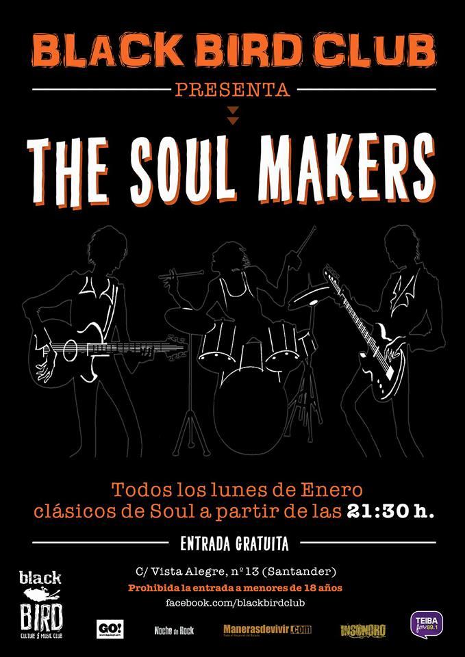 Concierto de the soul makers en el black bird de for Conciertos madrid hoy