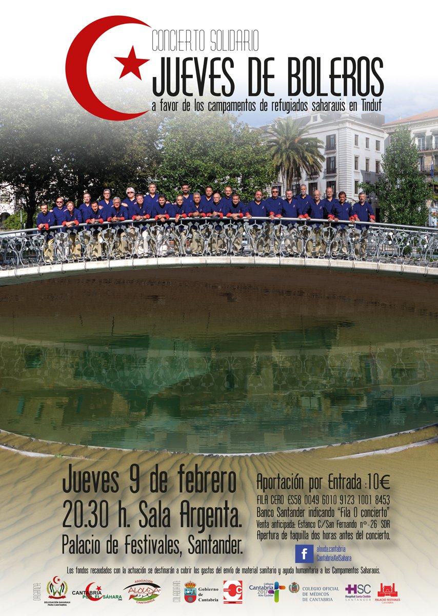 Concierto de jueves de boleros en el palacio de festivales for Conciertos madrid hoy