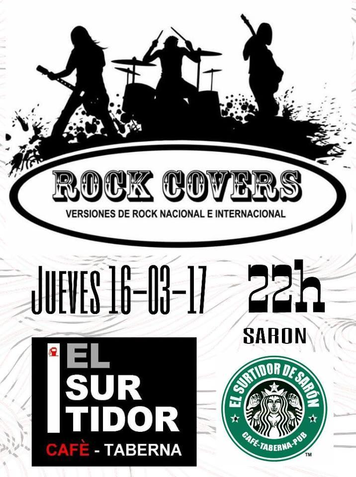 Concierto de rock covers en el surtidor de sar n for Conciertos madrid hoy