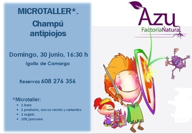 MICROTALLER: Champú antipiojos