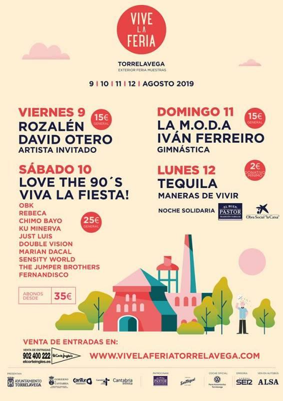 Conciertos Vive la Feria 2019
