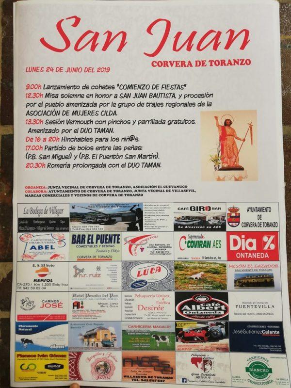 Fiestas de San Juan en Corvera de Toranzo 2019