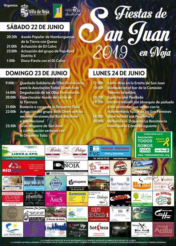Fiestas de San Juan en Noja 2019