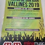 Fiestas de San Juan en Vallines 2019