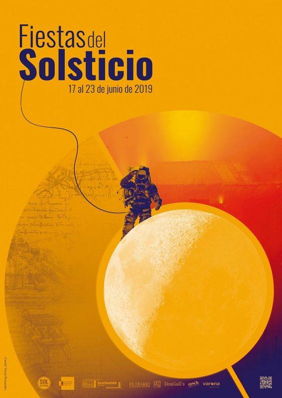 Fiestas del Solsticio en la calle del Sol de Santander 2019