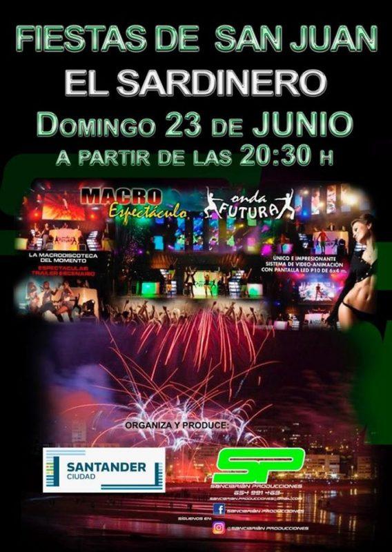 Fiestas de San Juan 2019 - El Sardinero - Santander
