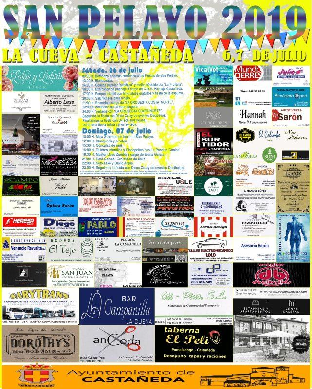 Fiestas de San Pelayo 2019 en Castañeda