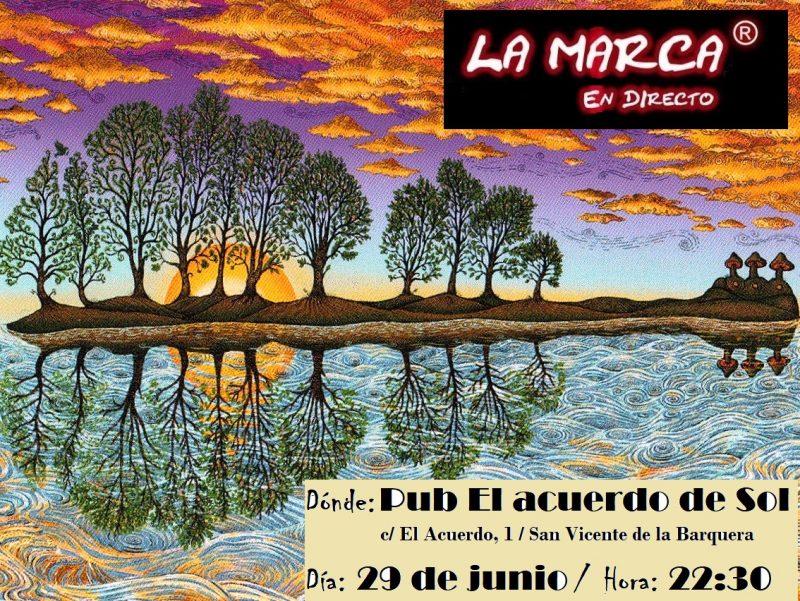Concierto de La Marca en El Acuerdo de Sol, San Vicente de la Barquera