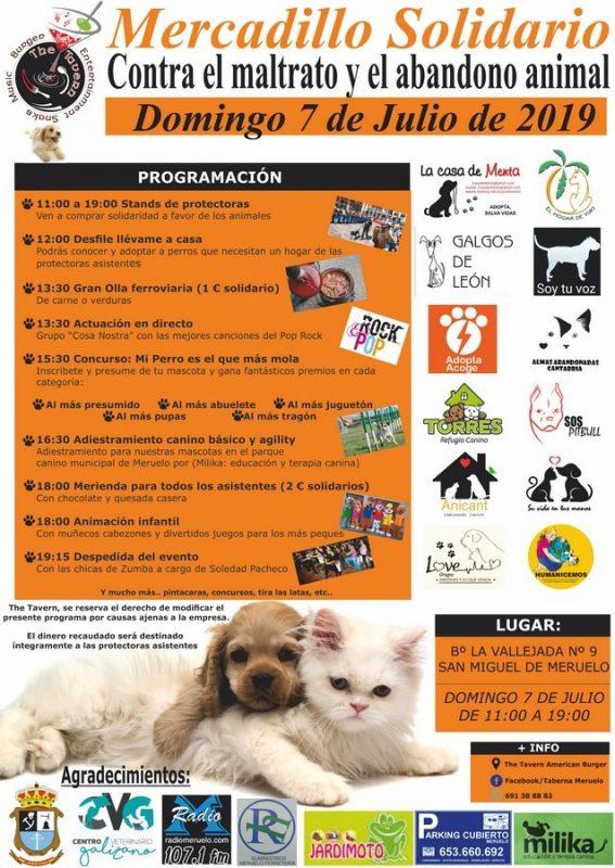 Mercadillo Solidario contra el abandono y el Maltrato animal