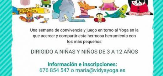 Campamento de Yoga Infantil