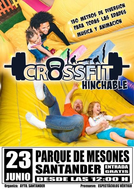 Crossfit Hinchable - Parque de Mesones - Santander