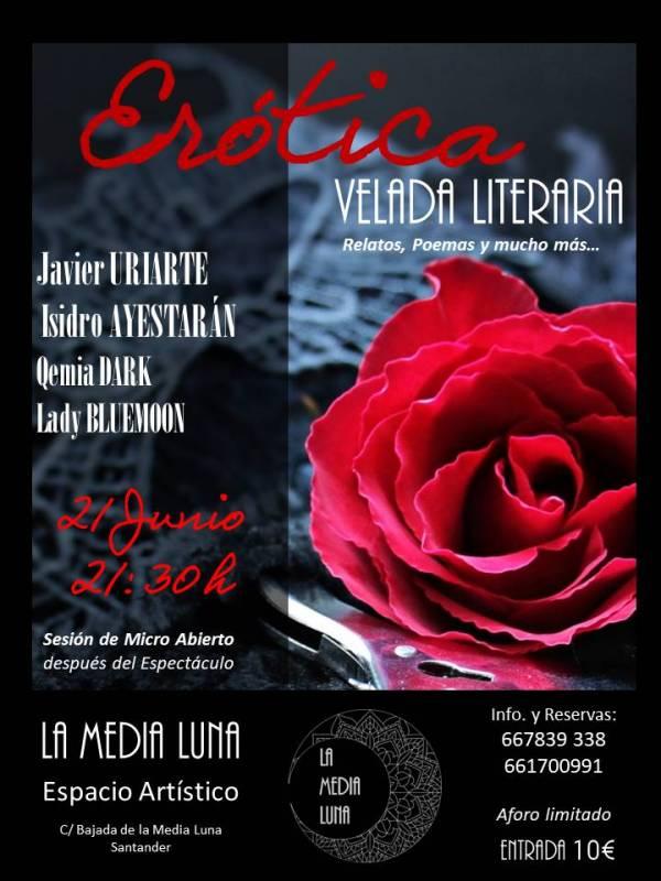Erótica, velada literaria en Santander