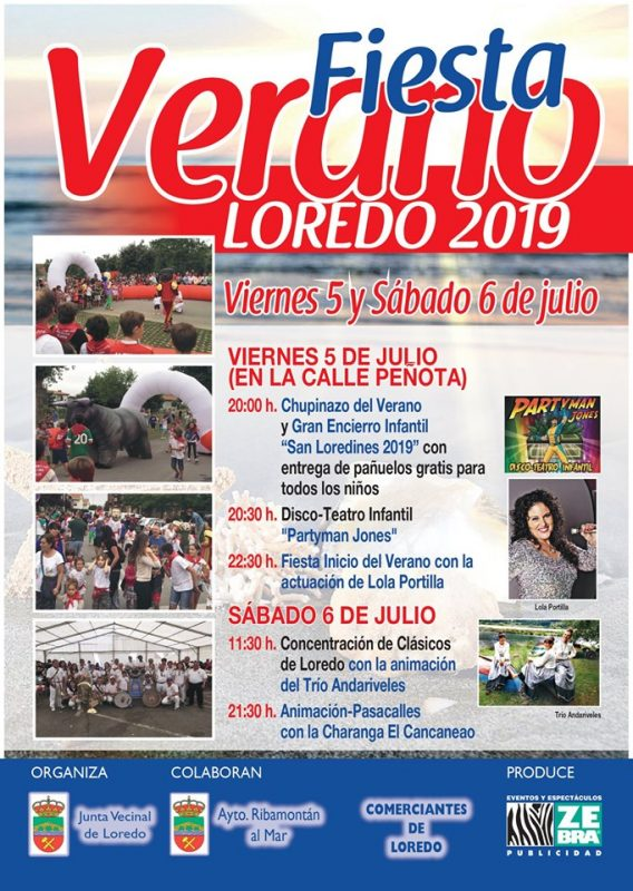 Fiesta Verano Loredo 2019