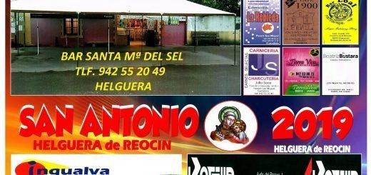 Fiestas de San Antonio 2019 en Helguera de Reocín