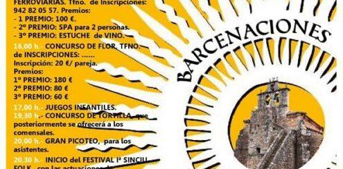 Fiestas del Corpus Christi en Barcenaciones 2019