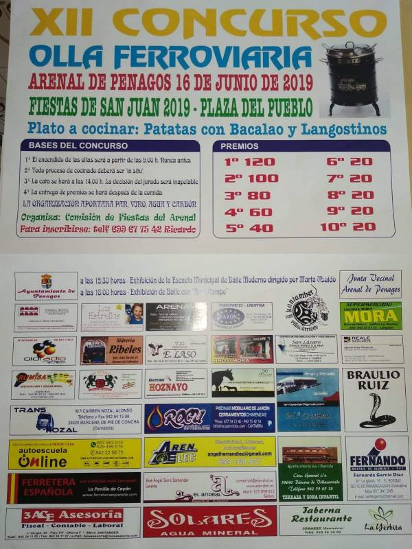 Fiestas de San Juan Bautista 2019 en Arenal de Penagos