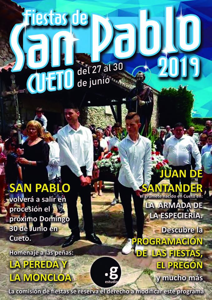 Fiestas de San Pablo Cueto 2019