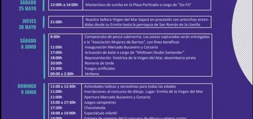 Fiestas de la Virgen del Mar Santander 2019