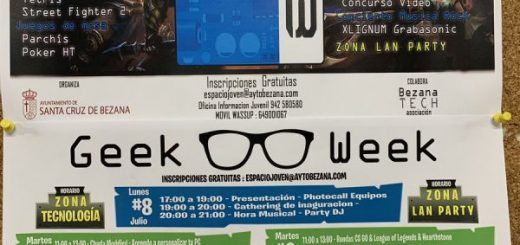 Geek week en Bezana
