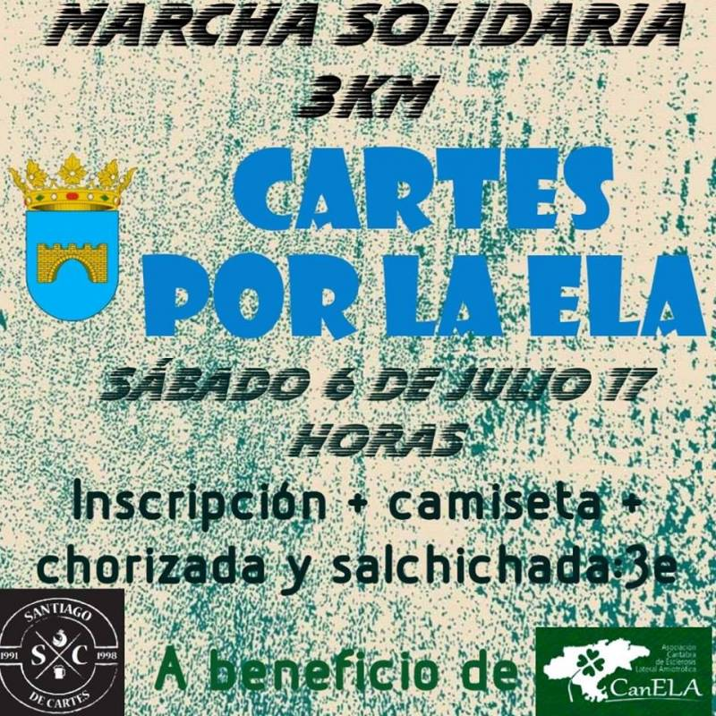 Marcha solidaria Cartes por la ELA
