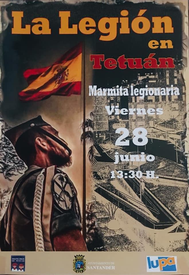Marmita Legionaria en Tetúan - Santander