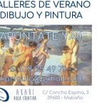 Talleres dibujo y pintura en Maliaño