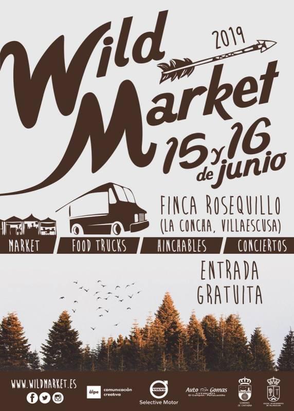 Wild Market 2019 en La Concha de Villaescusa