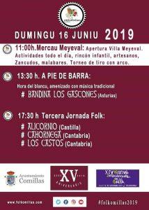 XV Festival Folkomillas