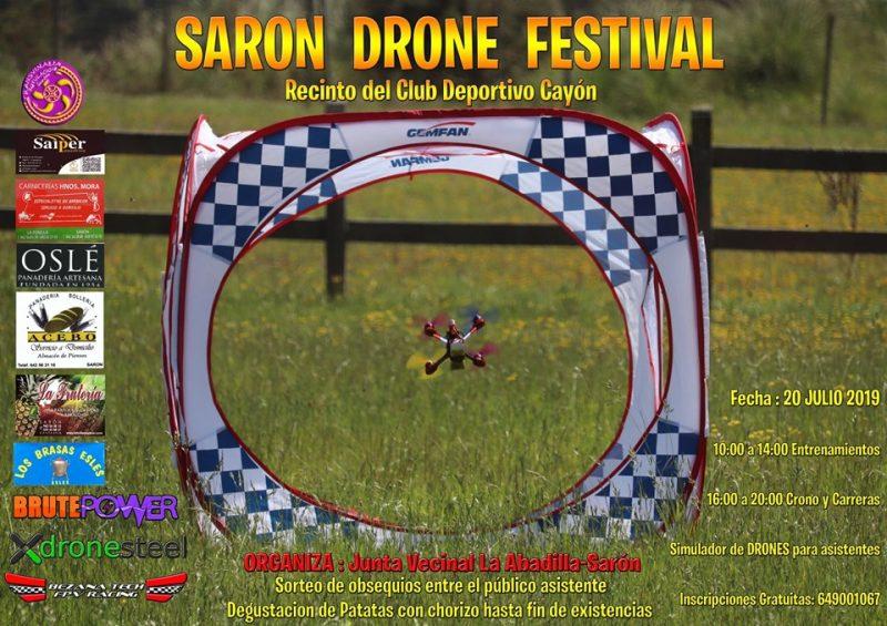 Carrera de drones en Sarón
