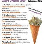Cine de verano en Castro Urdiales 2019