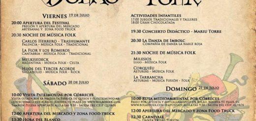 Festival Bolao Folk en Cóbreces 2019