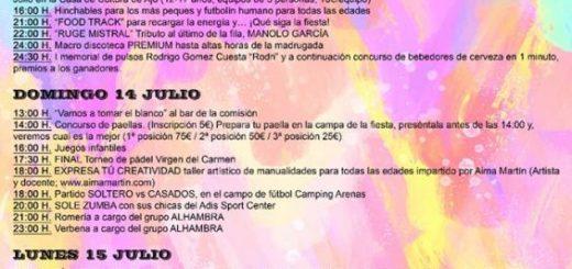 Fiestas de El Carmen en Ajo 2019
