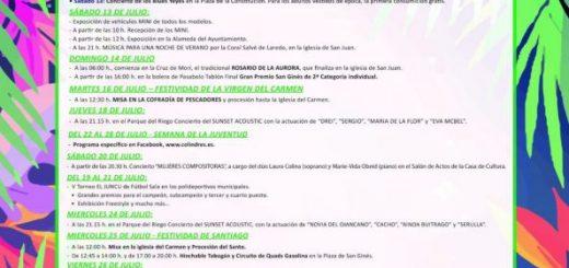 Fiestas de El Carmen y Santiago en Colindres 2019