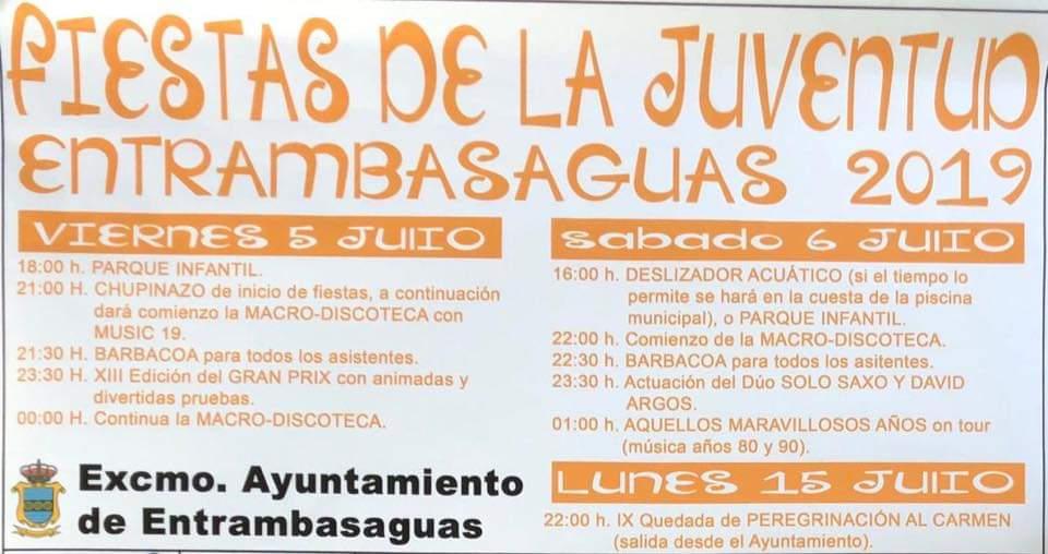 Fiestas de La Juventud en Entrambasaguas 2019